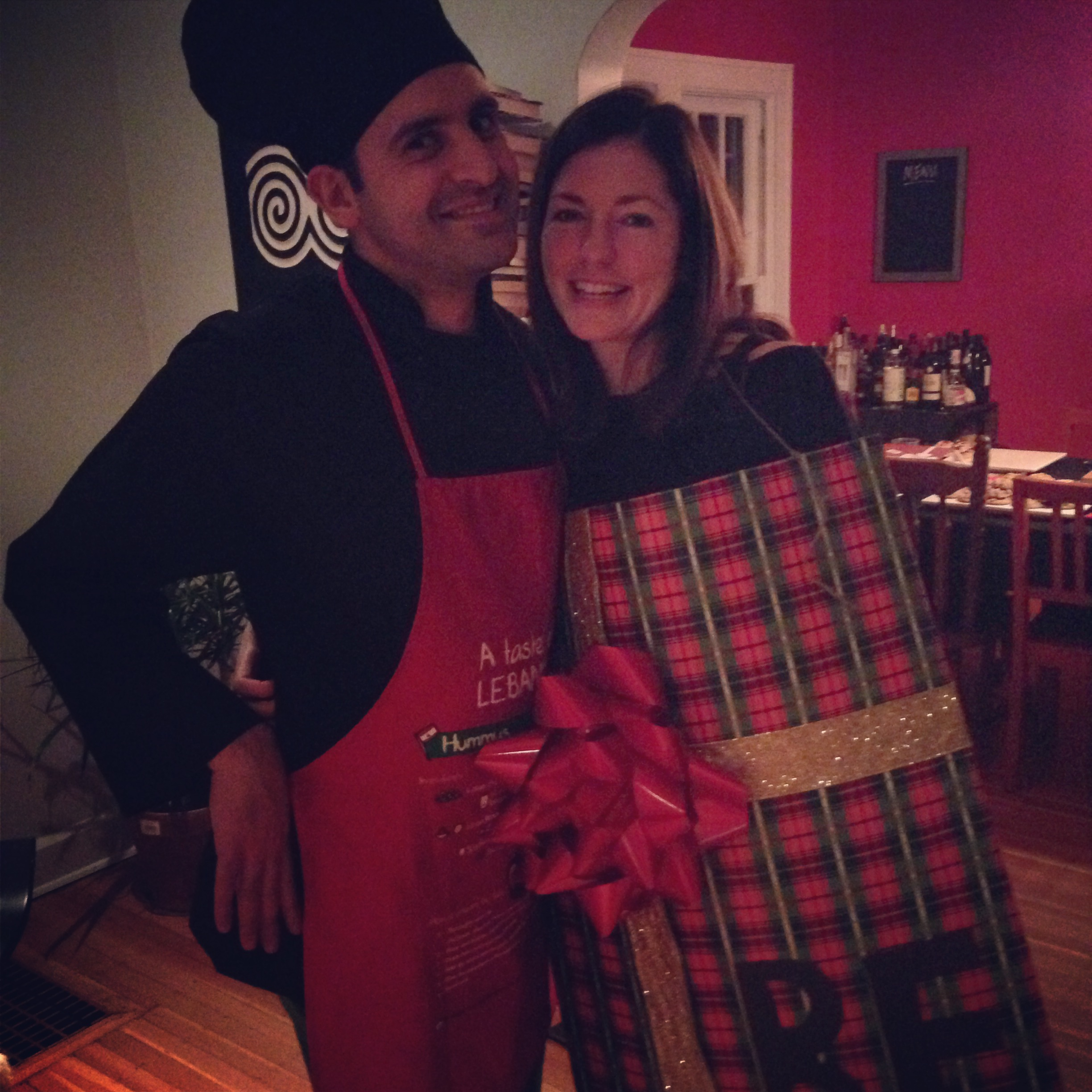 Kristin and George   October 31, 2015
